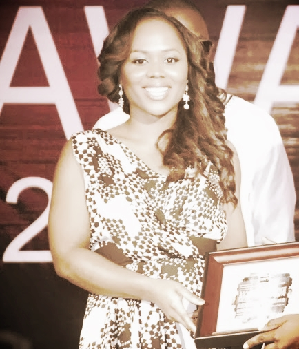 Uche Pedro at The Future Awards Africa 2011.jpg