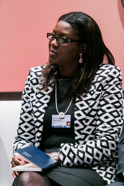 Monica Musonda , founder and CEO of Java Foods, Zambia