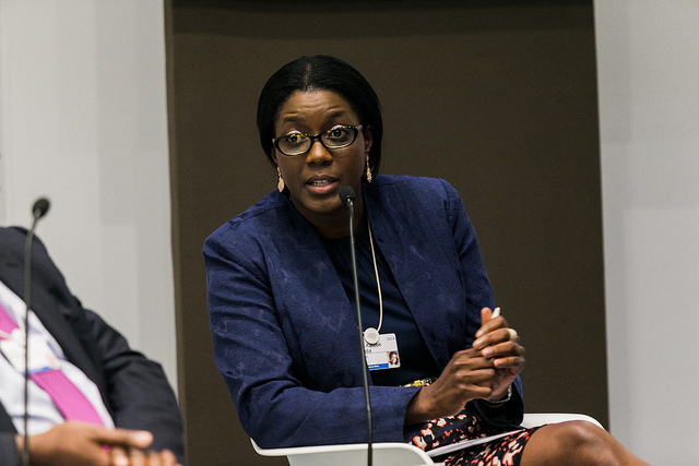 Monica Musonda, founder and CEO of Java Foods, Zambia