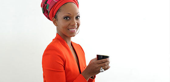 Swaady Martin-Leke, founder of YSWARA