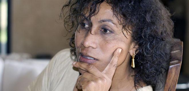 Aïssa Dione, founder of  Aissa Dione Tissus (Senegal)