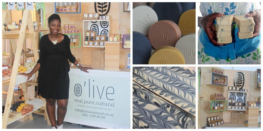 Zikhona Tefu , founder of O'live Handmade Soaps