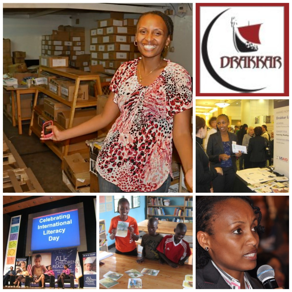 Lydia Hakizimana, co-founder and managing director of Drakkar Limited