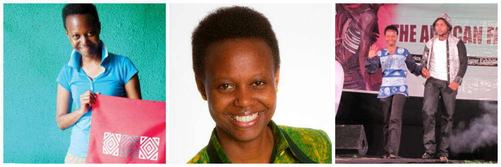 Gloria Kamanzi Uwizera, founder of Glo Creations in Rwanda