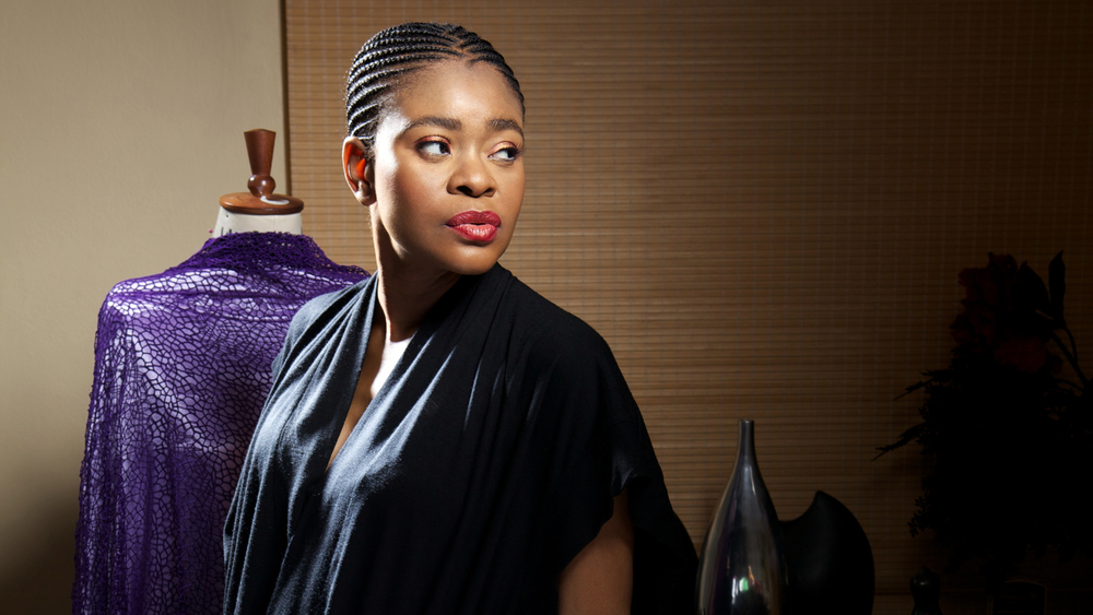 Deola Sagoe, founder of haute couture fashion house, Deola