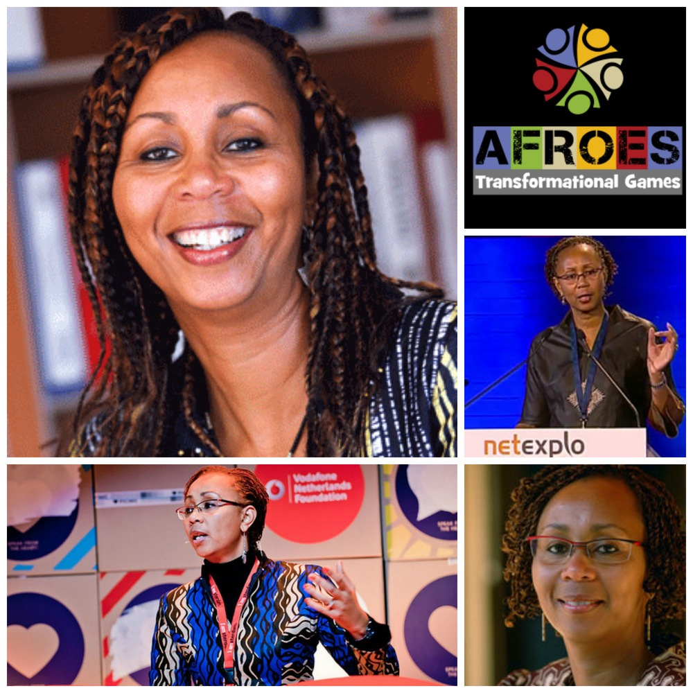 Anne Githuku-Shongwe, founder & CEO of AFROES Transformational Games