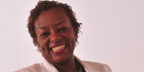 Jennifer Ririais group chief executive of Kenya Women Holding