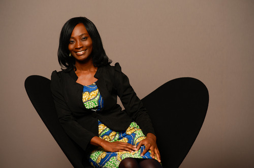 Anne Amuzu ,   co-founder of Nandimobile Ltd., Ghana