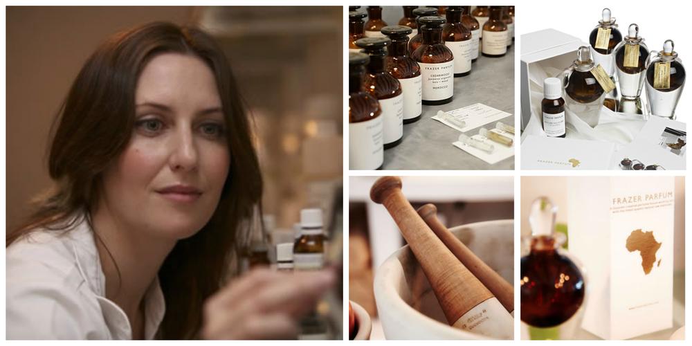 Tammy Frazer ,  founderof Frazer Parfum