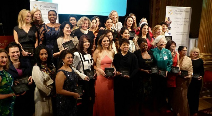 IWEC International Women Entrepreneurial Challenge 2014 Awardees in Stockholm, Sweden