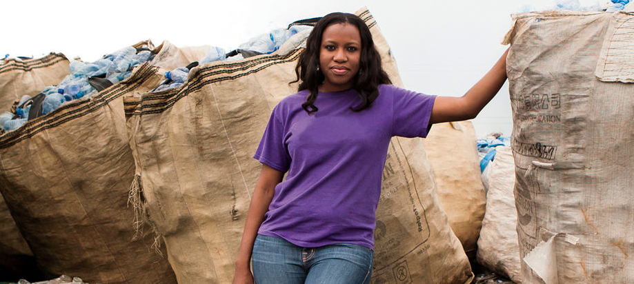Bilikiss Adebiyi-Abiola, co-founder of WeCyclers, Nigeria