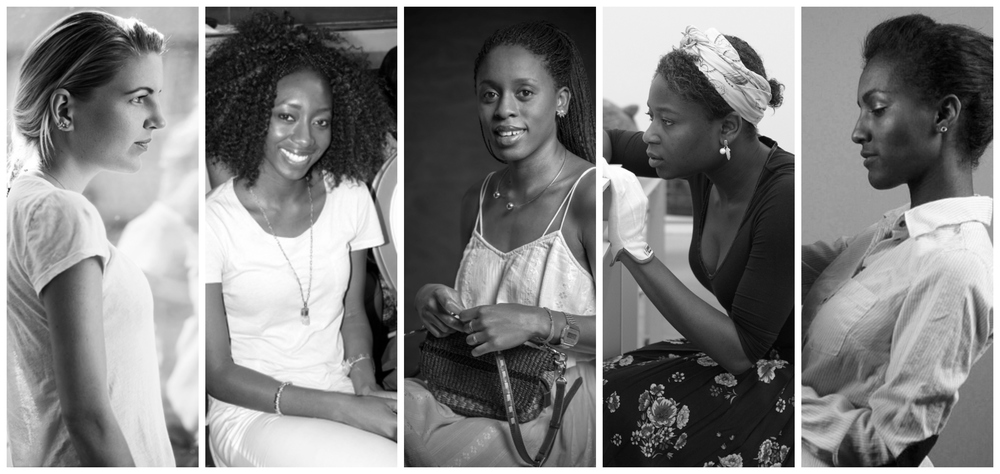 L-R: Hanneli Rupert, Zainab Ashadu,Akosua Afriyie-Kumi,Buki Akib,Abai Schulze