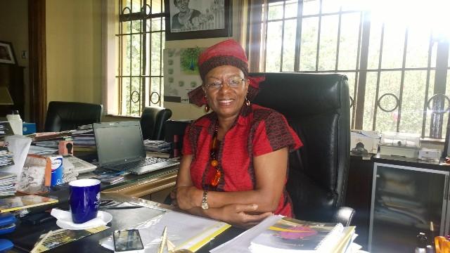 Dr. Jennifer Riria, CEO Kenya Women Holding