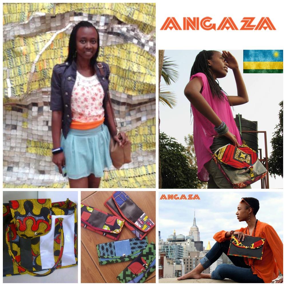 Monica Umwari , co-founder of Angaza, Rwanda