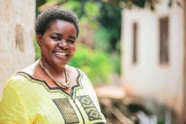 Victoria Kisyombe ,founder of SELFINA , Tanzania