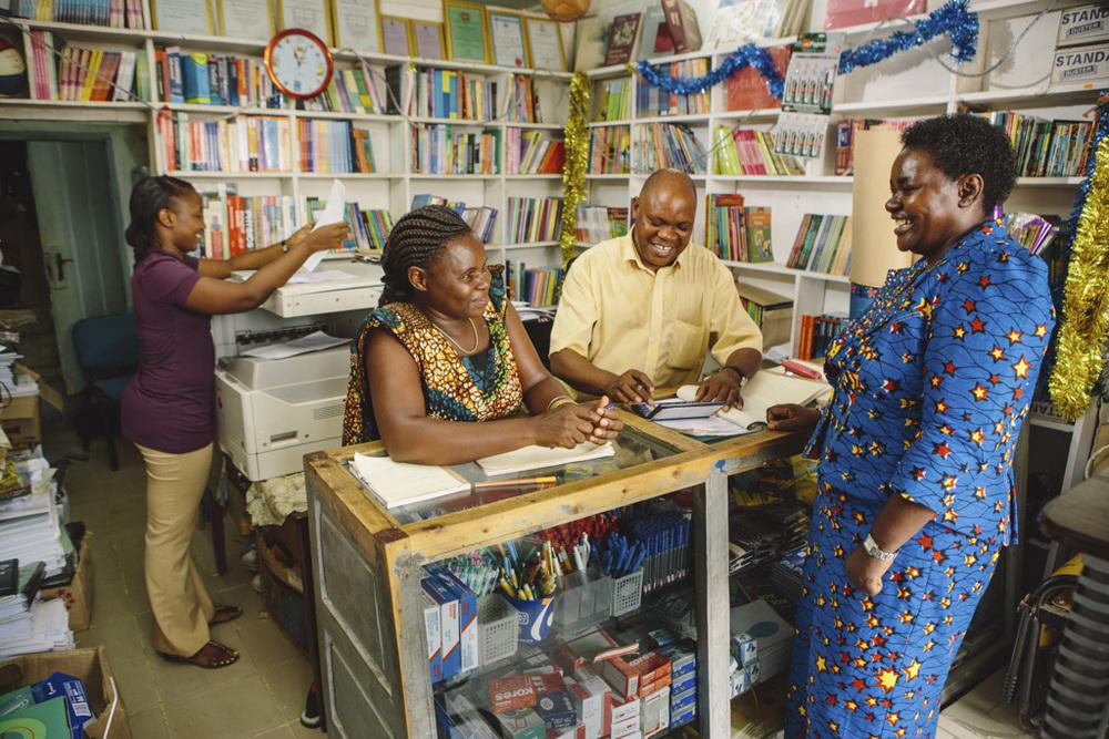 Dr. Victoria Kisyombe , founder & CEO of  SELFINA , Tanzania