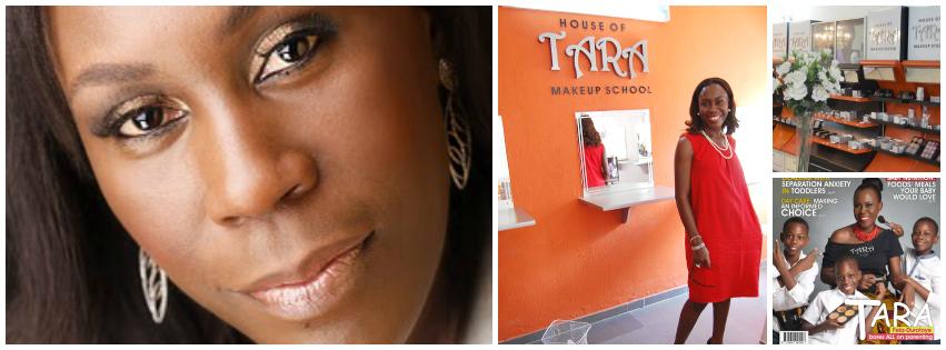 Tara Fela-Durotoye , founder of  House of Tara , Nigeria