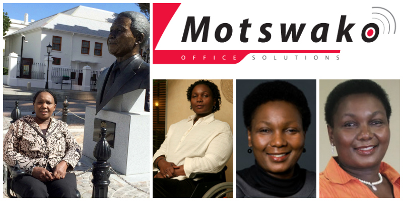 Sebenzile Matsebula, founder of Motswako Office Solutions, South Africa