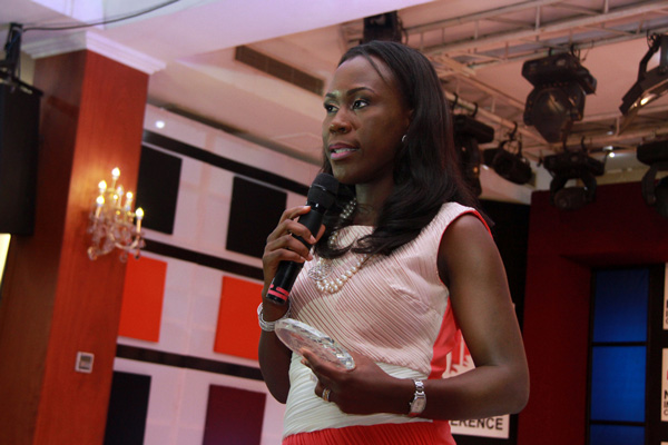 Tara Fela-Durotoye  , founder of the  House of Tara International , Nigeria