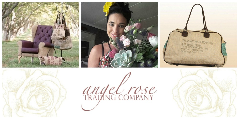 Angela van Herzeele, founder of Angel Rose Trading Company, KZN, South Africa