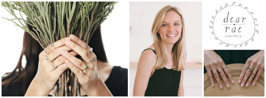 Karin Rae Matthee, founder of Cape Town-based Dear Rae Jewellery