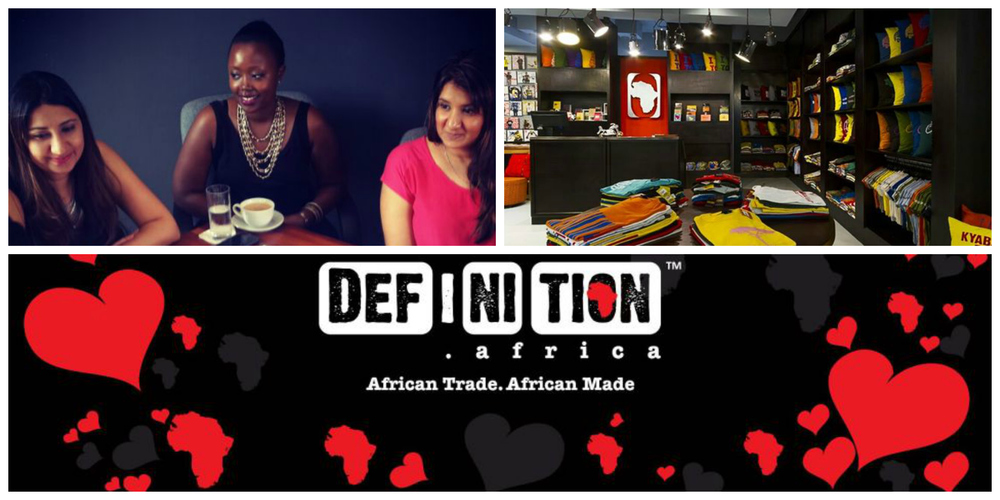 Nahida and Nadia Bhegani & Olga Mugyenyi, founders ofDEF.I.NI.TION Africa, Uganda
