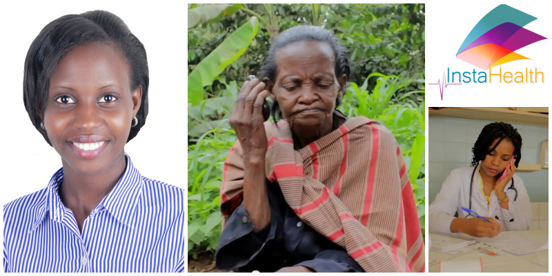 Brenda Katwesigye, co-founder InstaHealth, Uganda