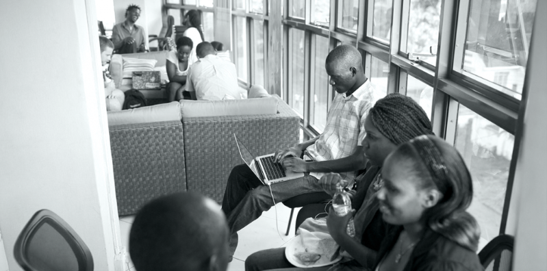 Hivecolab, co-working space for startups, techies, and entrepreneurs in Kampala