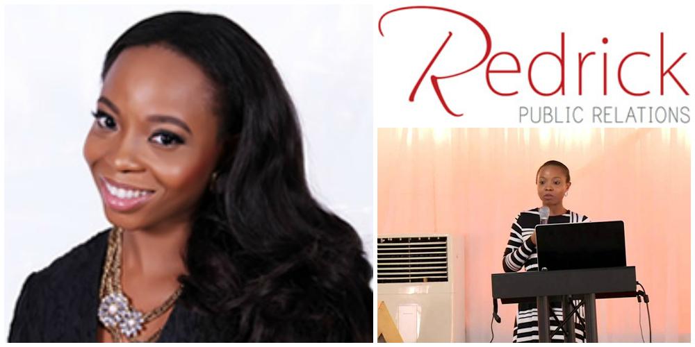 Ijeoma Ndekwu , founder of  Redrick PR , Nigeria