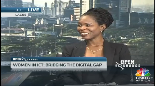 Watch Ommo Clarke discuss bridging the gender gap in Nigeria's tech industry