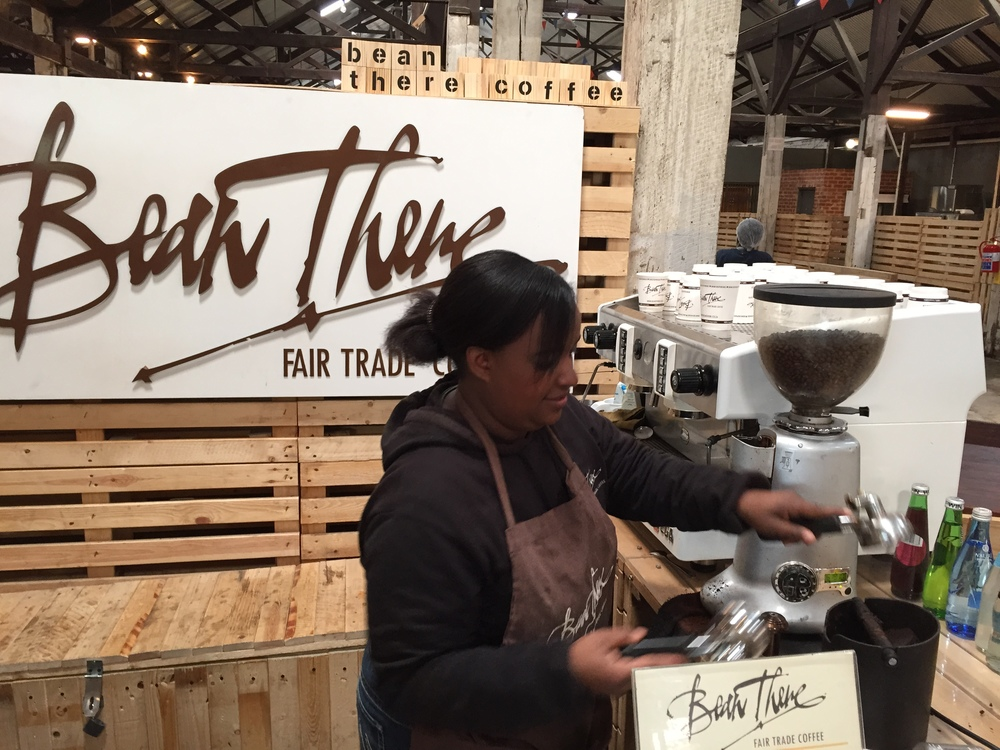 Ask Memory (the always chatty barista) to fix you some of the finest caffeine in town by Bean There Fair Trade Coffee