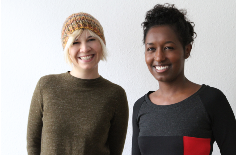 Adiam Emnay & Anne-Sophie Wass, founders of DUBARUBA