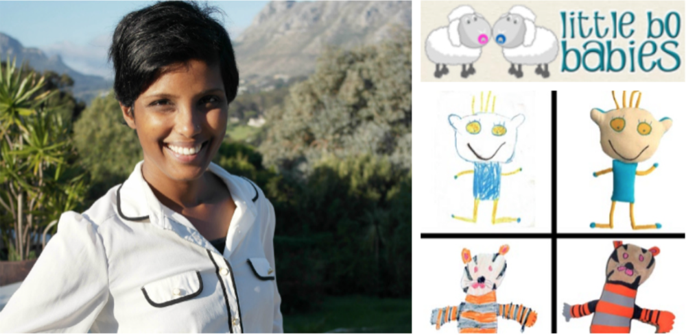 Gayathrie Schatz, founder of The Little Bo Baby Company
