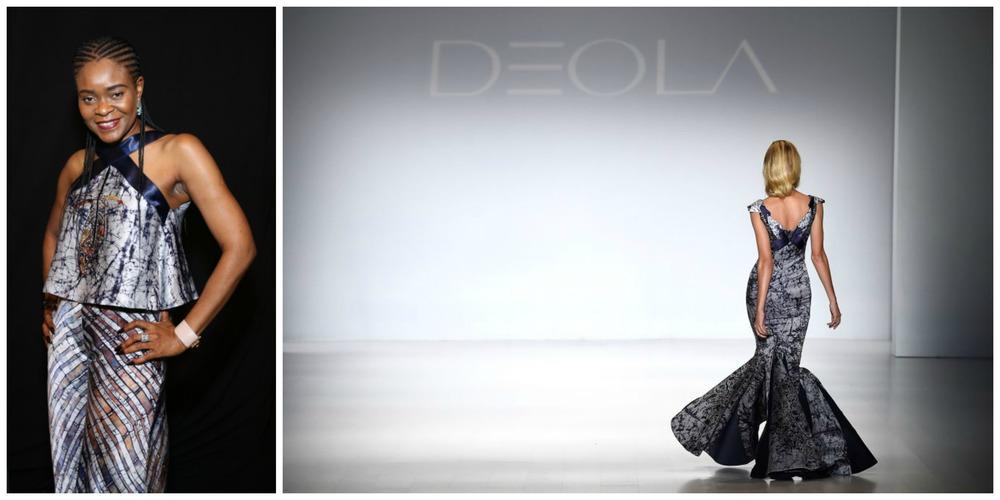 Deola Sagoe, founder and designer, Deola (Nigeria)