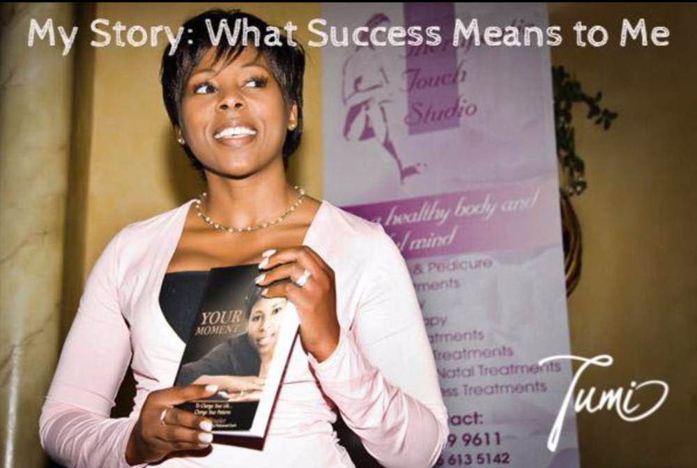Tumi Frazier, author of 'Your Moment'
