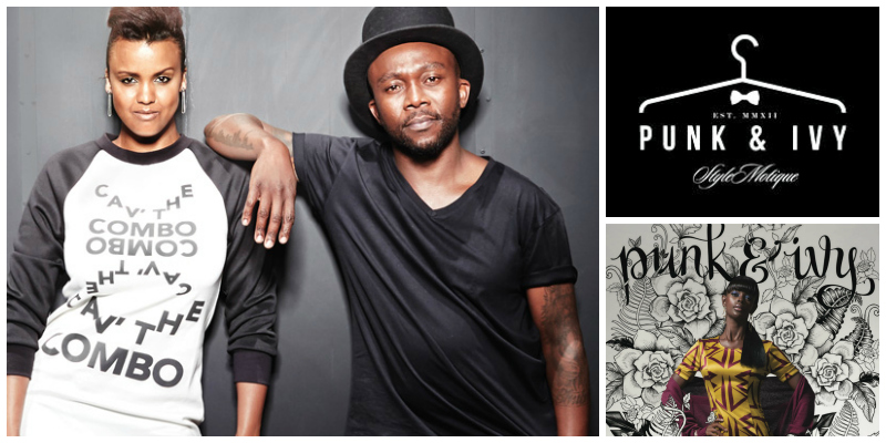 Bianca & Khaya Sibiya , co-founders of  Punk & Ivy  (South Africa)