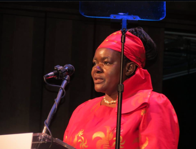 Dr. Victoria Kisyombe, founder of SELFINA (Tanzania)
