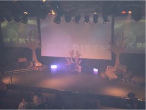 Phoenix Design undertook a stage management project at the Glasgow C7 Church