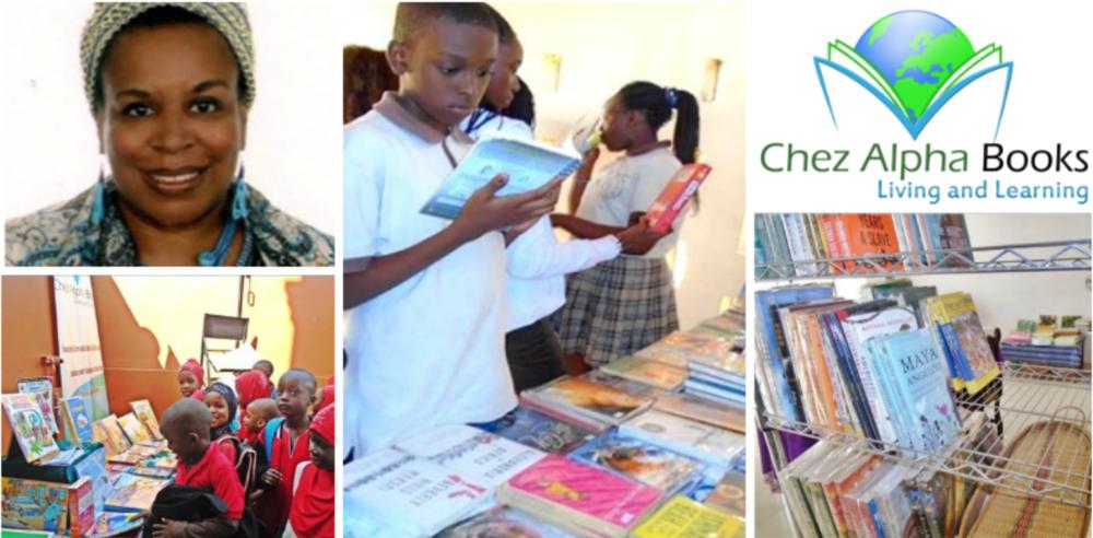Angela Franklin , founder of  Chez Alpha Books  (Senegal)