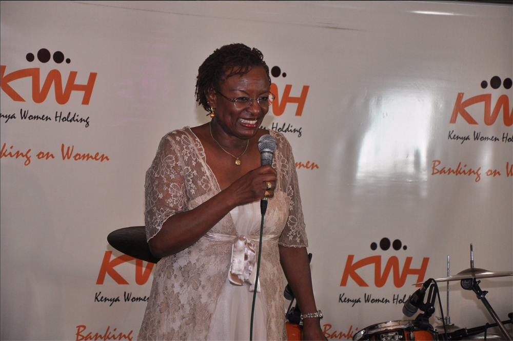Dr. Jennifer Riria, group chief executive of Kenya Women Holding