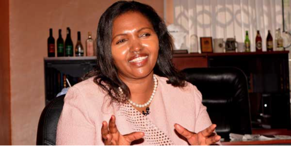 Tabitha Karanja, founder and CEO of Keroche Breweries (Kenya)