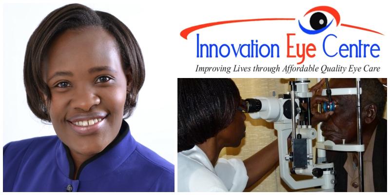 Jacqueline Kiage , co-founder of Innovation EyeCentre  (Kenya)