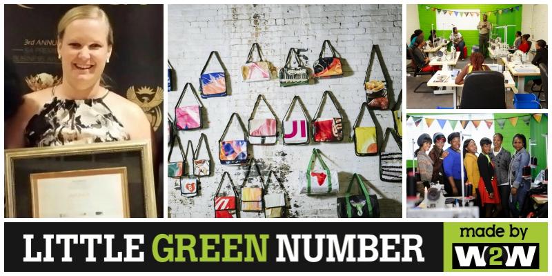 Juanita van der Merwe , co-founder of  Little Green Number  (South Africa)