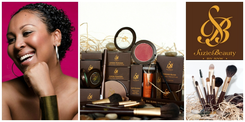 Suzie Wokabi, founder of Suzie Beauty Ltd. (Kenya)