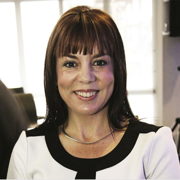 Janine Myburgh, President of the Cape Chamber of Commerce