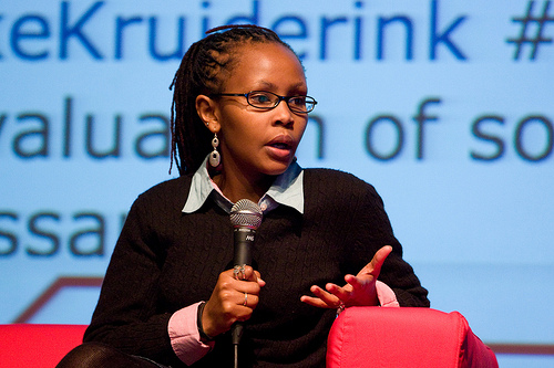 Juliana Rotich, co-founder of Ushahidi
