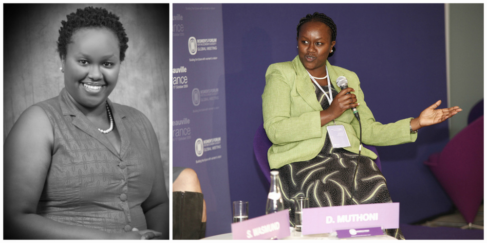 Dorcas Muthoni, founder of Open World