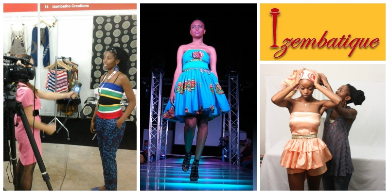 Lungile Kunene, founder of  Izembatho Creations  (South Africa)