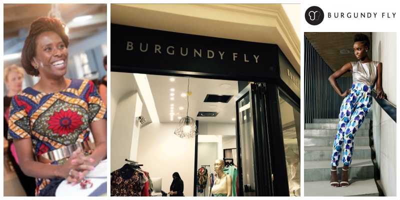 Nobesuthu Ndlovu , co-founder of  Burgundy Fly (South Africa)