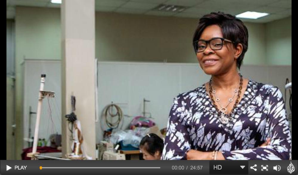 Video: Nigerian Fashion Designer Deola Sagoe Is Featured